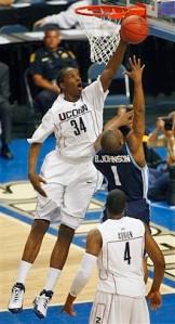 NCAA San Diego Connecticut Basketball